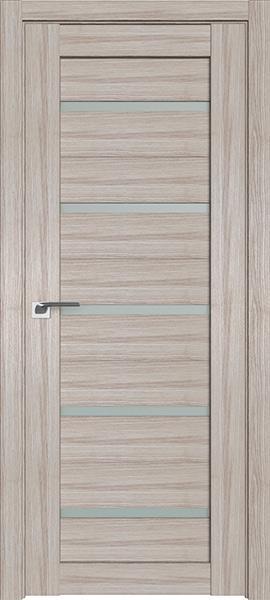 Дверь Профиль дорс 7X Капучино мелинга - со стеклом
