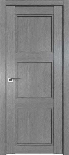 Дверь Профиль дорс 2.26XN Грувд серый - глухая