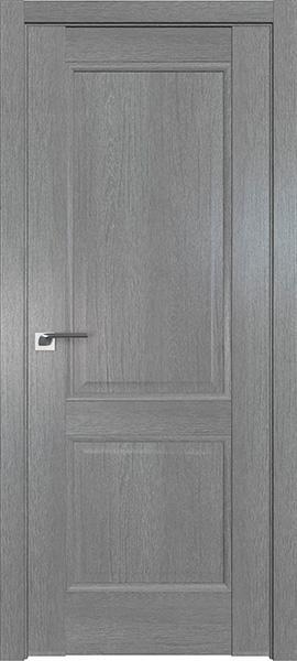 Дверь Профиль дорс 2.41XN Грувд серый - глухая
